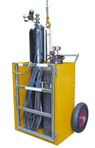 Picture of Welding Trolley for Oxy Acetylene Bottles