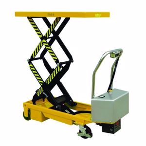 Picture of 350kg Double Electric Scissor Lift Trolley