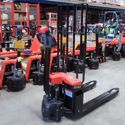 Picture of Full Electric Standard Width 1.5 Ton Pallet Jack
