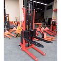 Picture of Semi Electric Narrow Pallet Stacker 1.5 Ton 3m