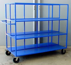 Picture of Large 3 Tier Warehouse Trolley